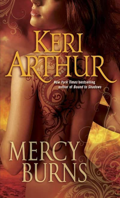 Book cover for Mercy Burns by Keri Arthur