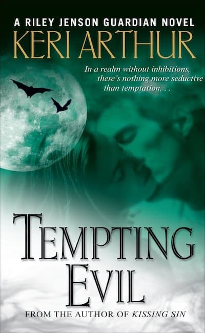 Book cover for Tempting Evil by Keri Arthur