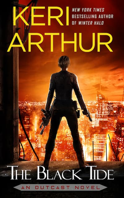 Book cover for The Black Tide by Keri Arthur