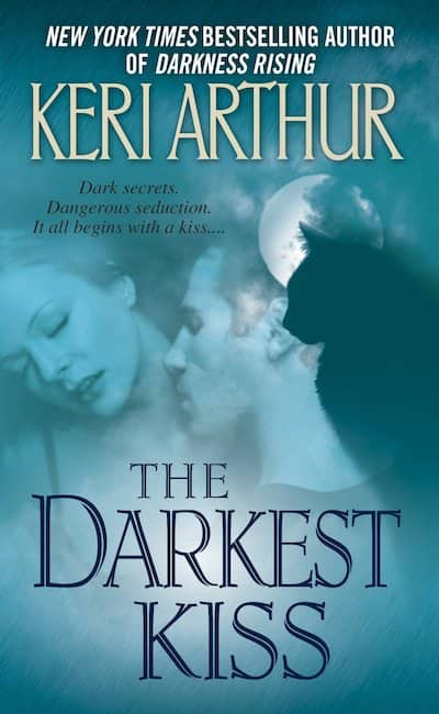 Book cover for The Darkest Kiss by Keri Arthur