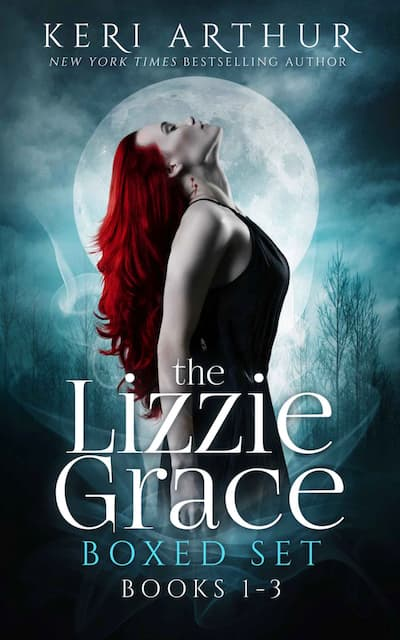 Book cover for The Lizzie Grace Boxed Set by Keri Arthur