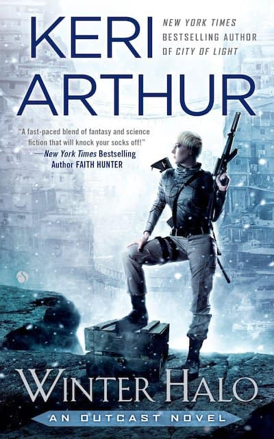 Book cover for Winter Halo by Keri Arthur